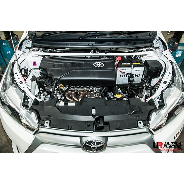 FOR LEXUS IS-F V8 5.0 2007 ULTRA RACING FRONT STRUT BAR TOWER BRACE 2 POINTS