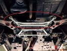 TOYOTA HARRIER (2WD & 4WD) (2013) FRONT MEMBER BRACE / FRONT LOWER BAR (I)